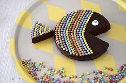 Gâteau en forme de poisson