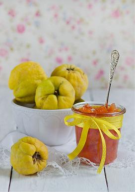 Confiture d'automne pomme-coing