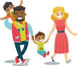 dessin-famille-adultes-enfants