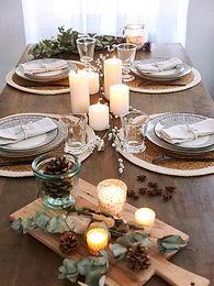 Déco pour une table de fête