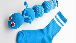 Chenille chaussette