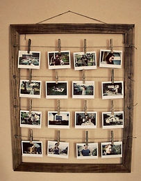Cadre photo maison