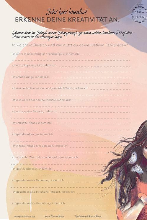 Kreative Fähigkeiten Seite 01 - FLOW TO BLOOM Workpage