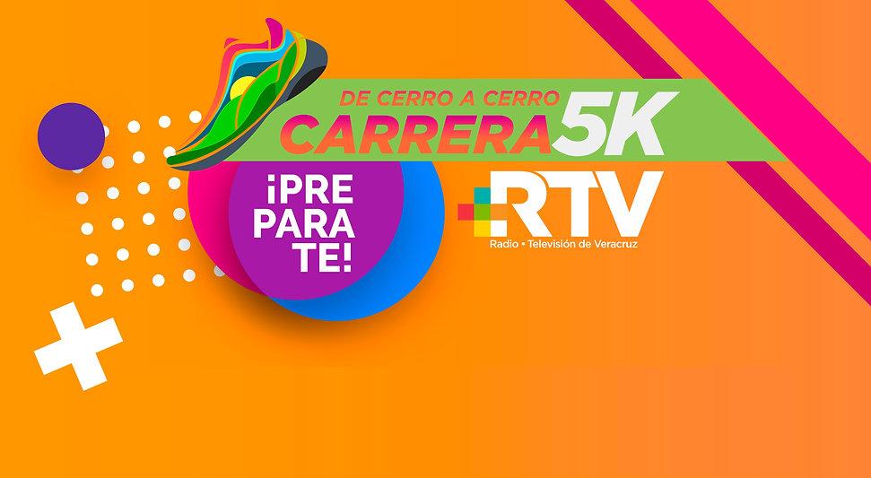 Carrera RTV 5K 3era edición