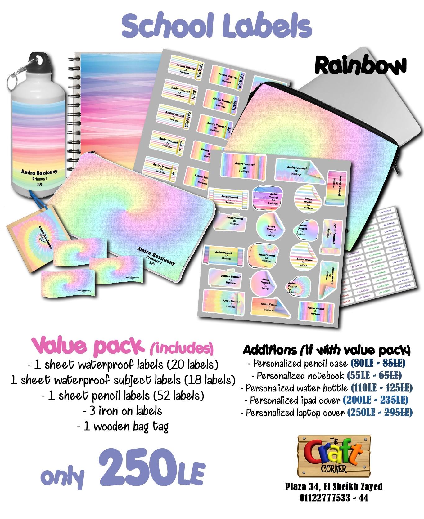 Rainbow ad