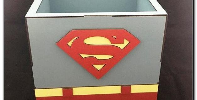 Superman wooden box
