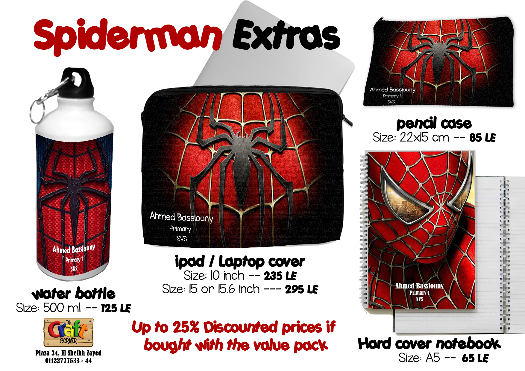 spiderman Extras