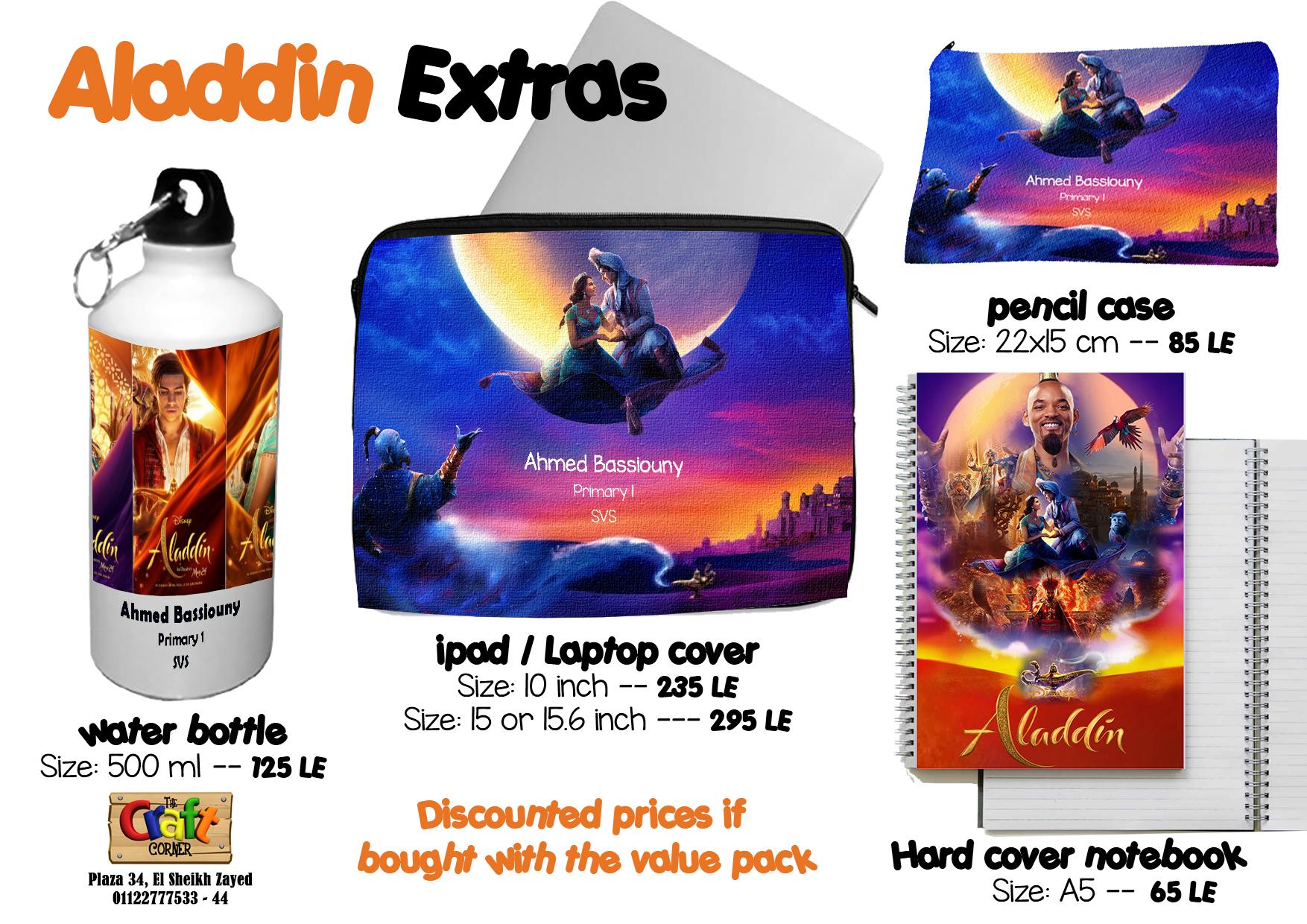 Aladdin extras