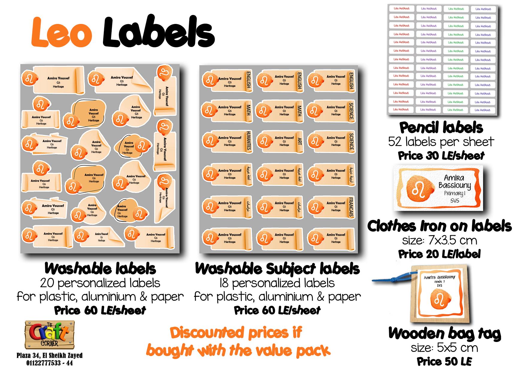 leo Labels