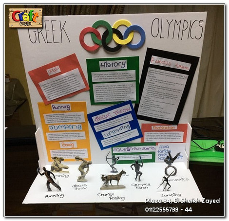 Greek Olympics project (1112)