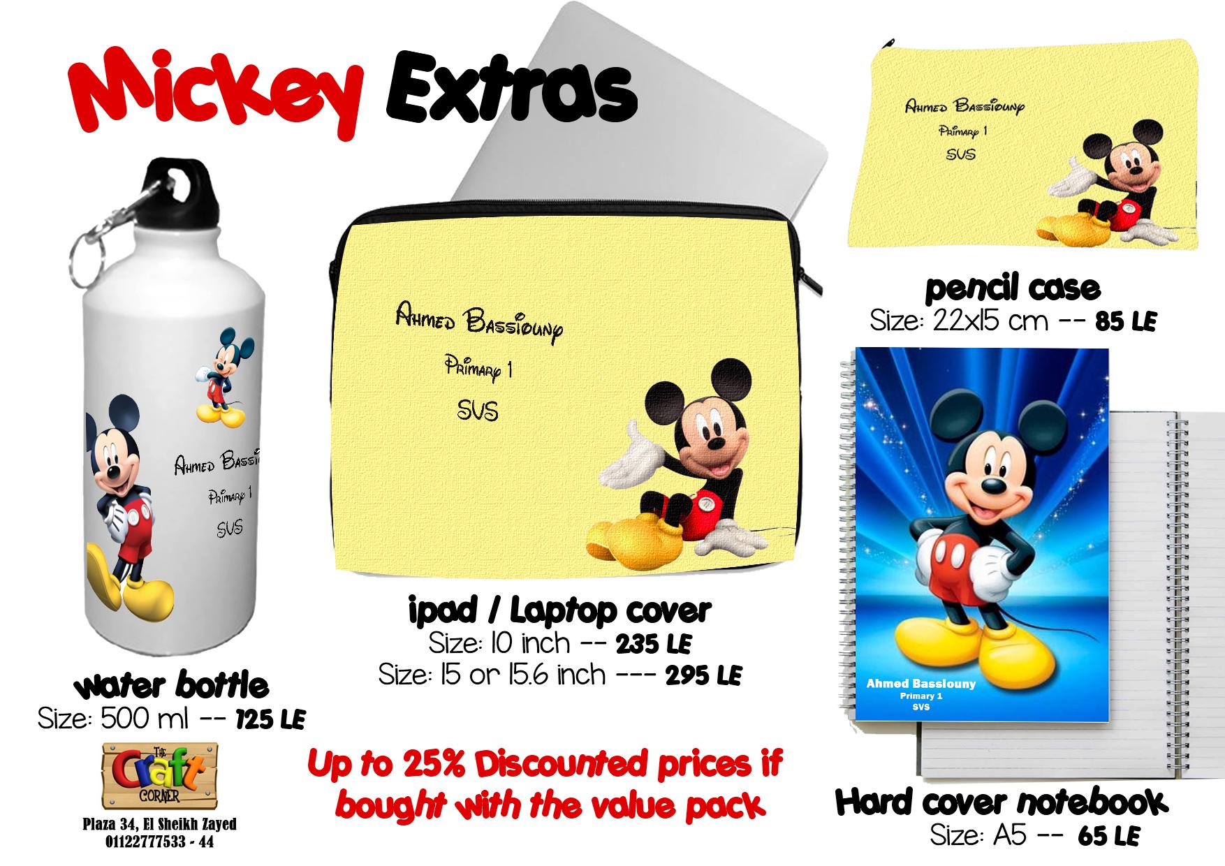 Mickey Extras