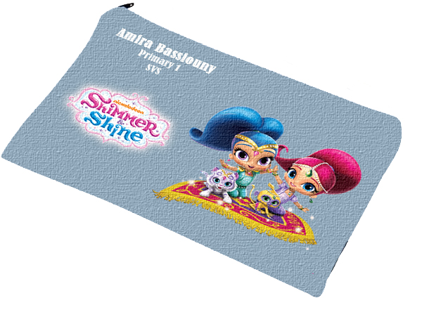 shimmer & shine pencil case