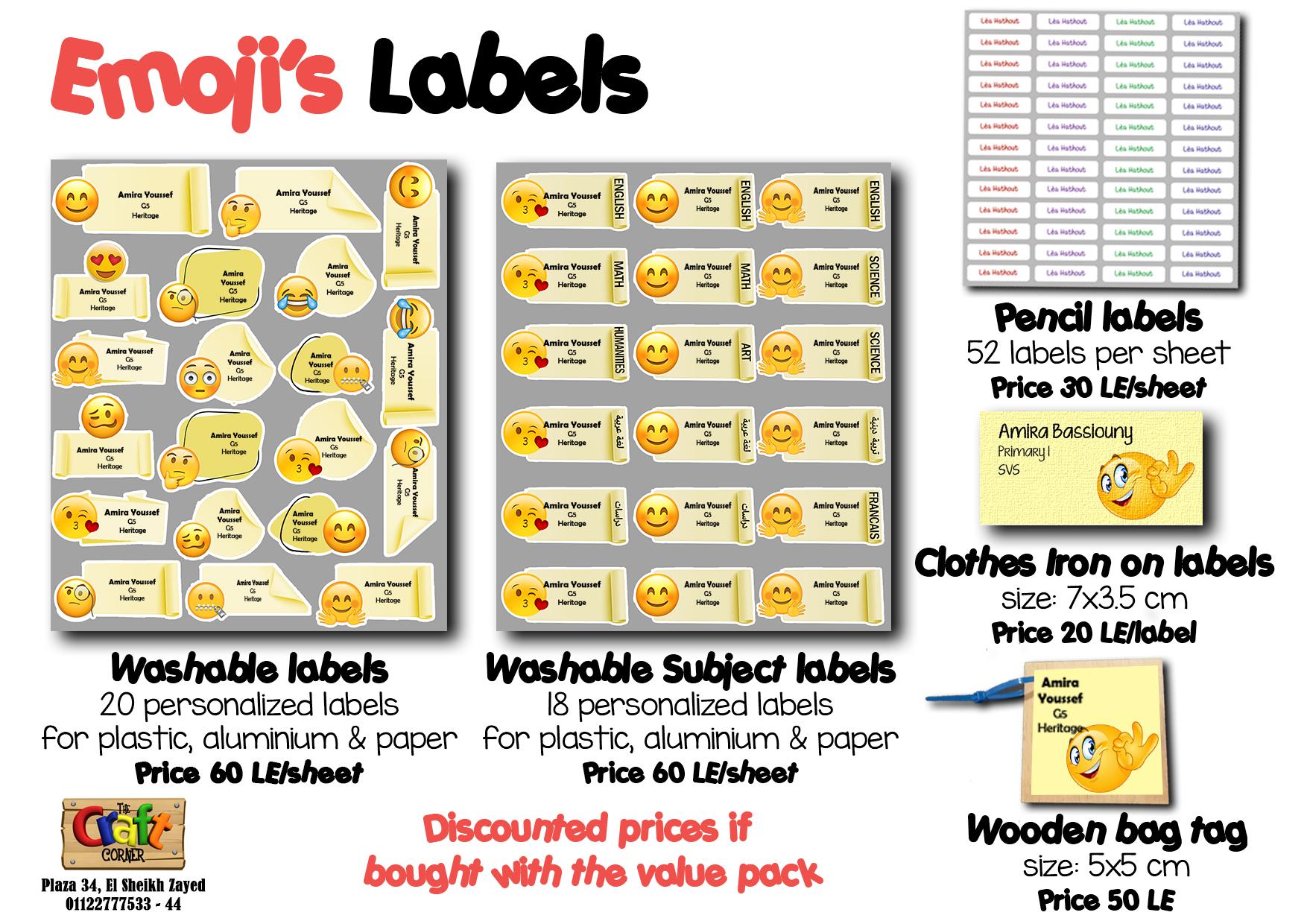 Emoji's Labels