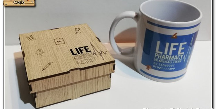 wooden LOGO box