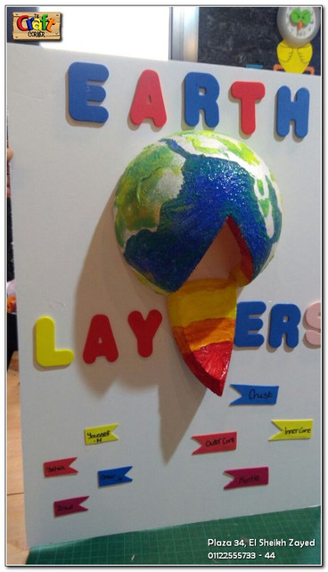 Earth layers project (1140)