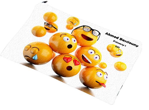 emojis pencil case