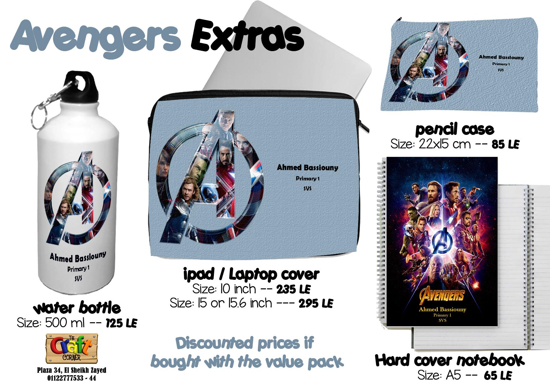 Avengers Extras