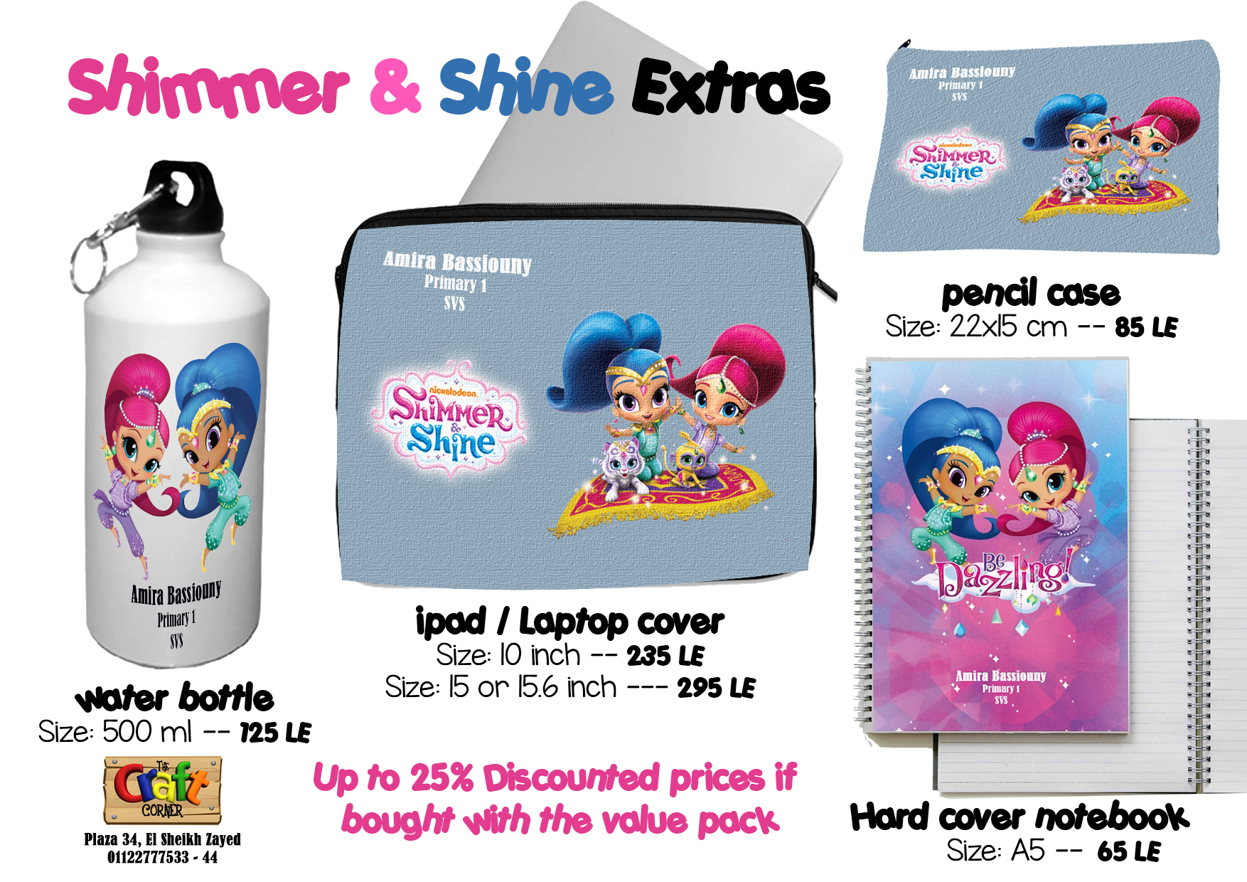 shimmer & shine Extras