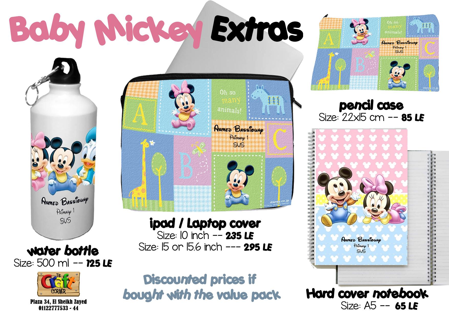Baby MIckey Extras
