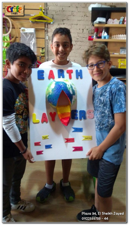 Earth Layers project (1138)