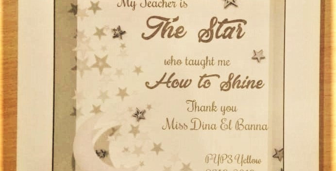 The Star shadow box
