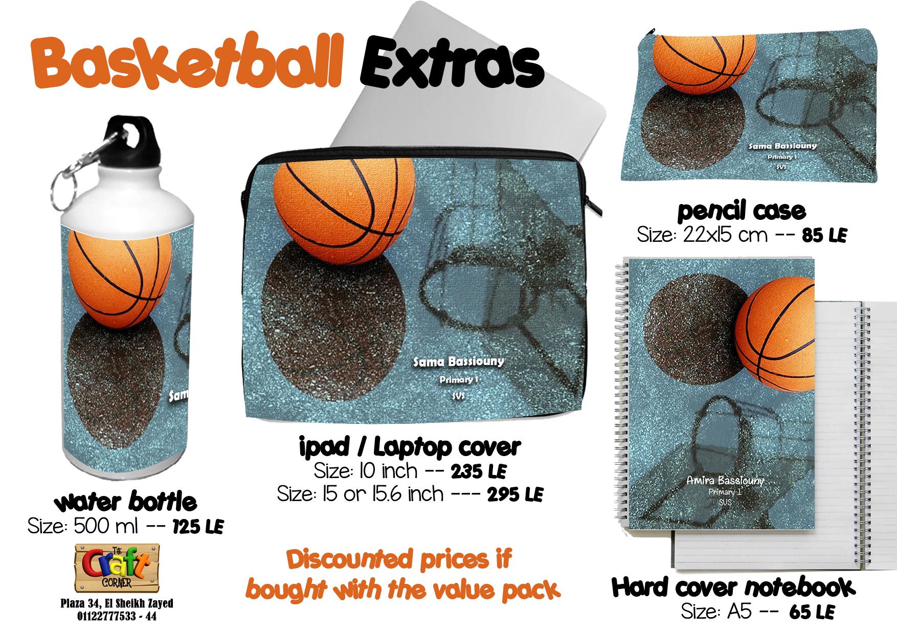 Basket ball Extras