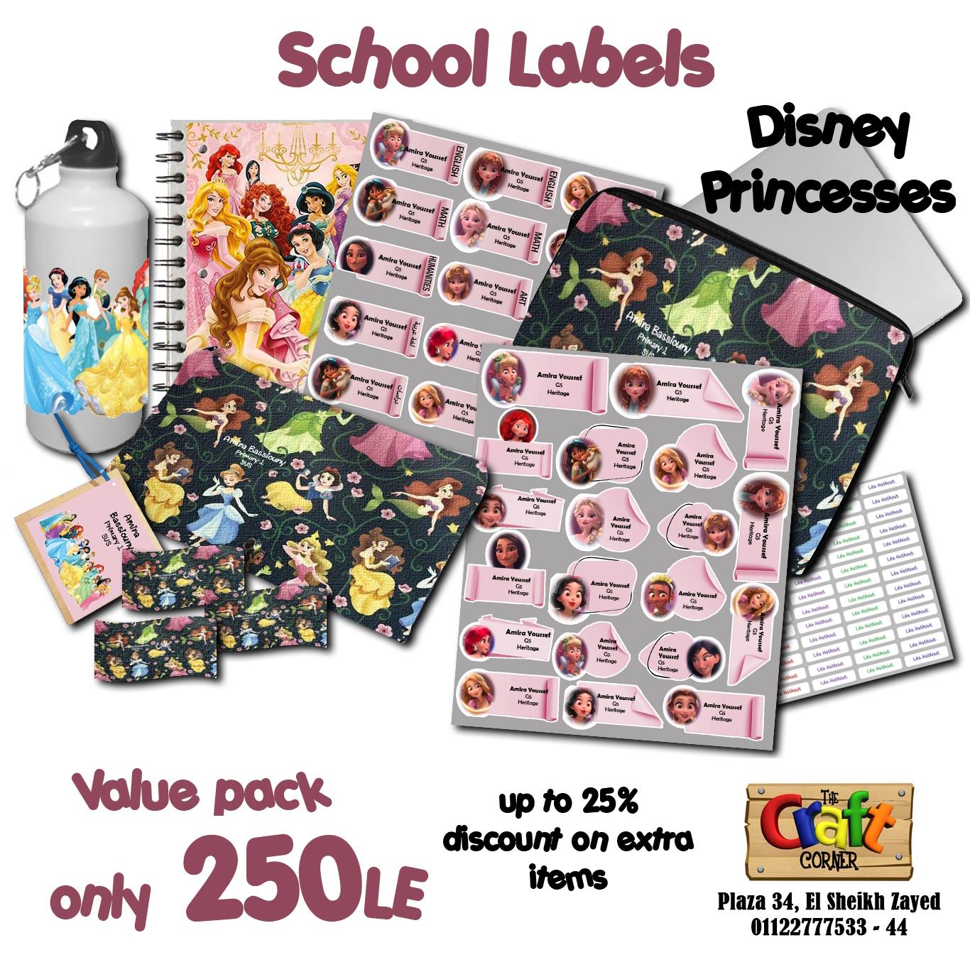 Disney princesses ad small