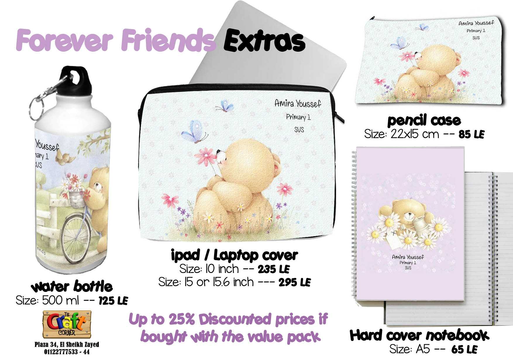 Forever friends Extras