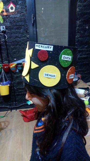 Solar system hat (353)