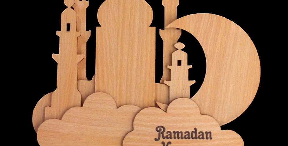 Ramadan Wall art (clouds)