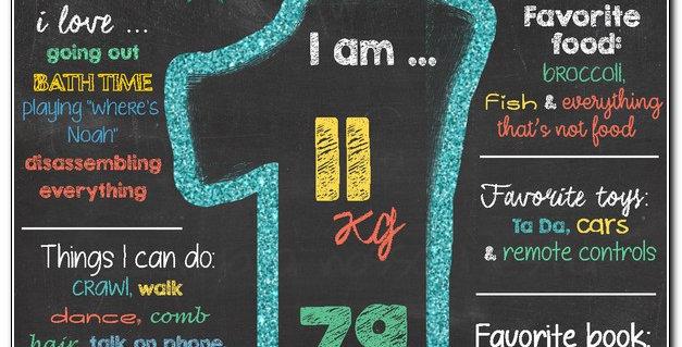Chalkboard number 1