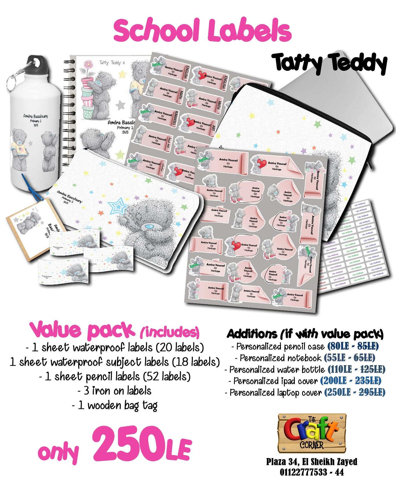 Tatty teddy ad