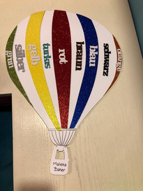 Foam hot air balloon (1191)