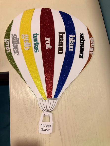 Foam hot air balloon (1191)