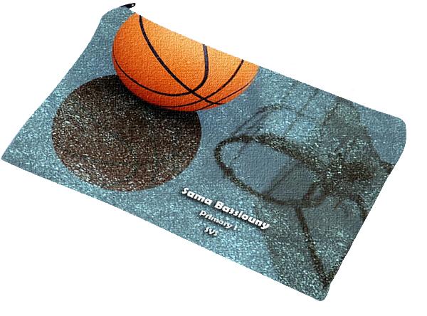 basketball pencil case