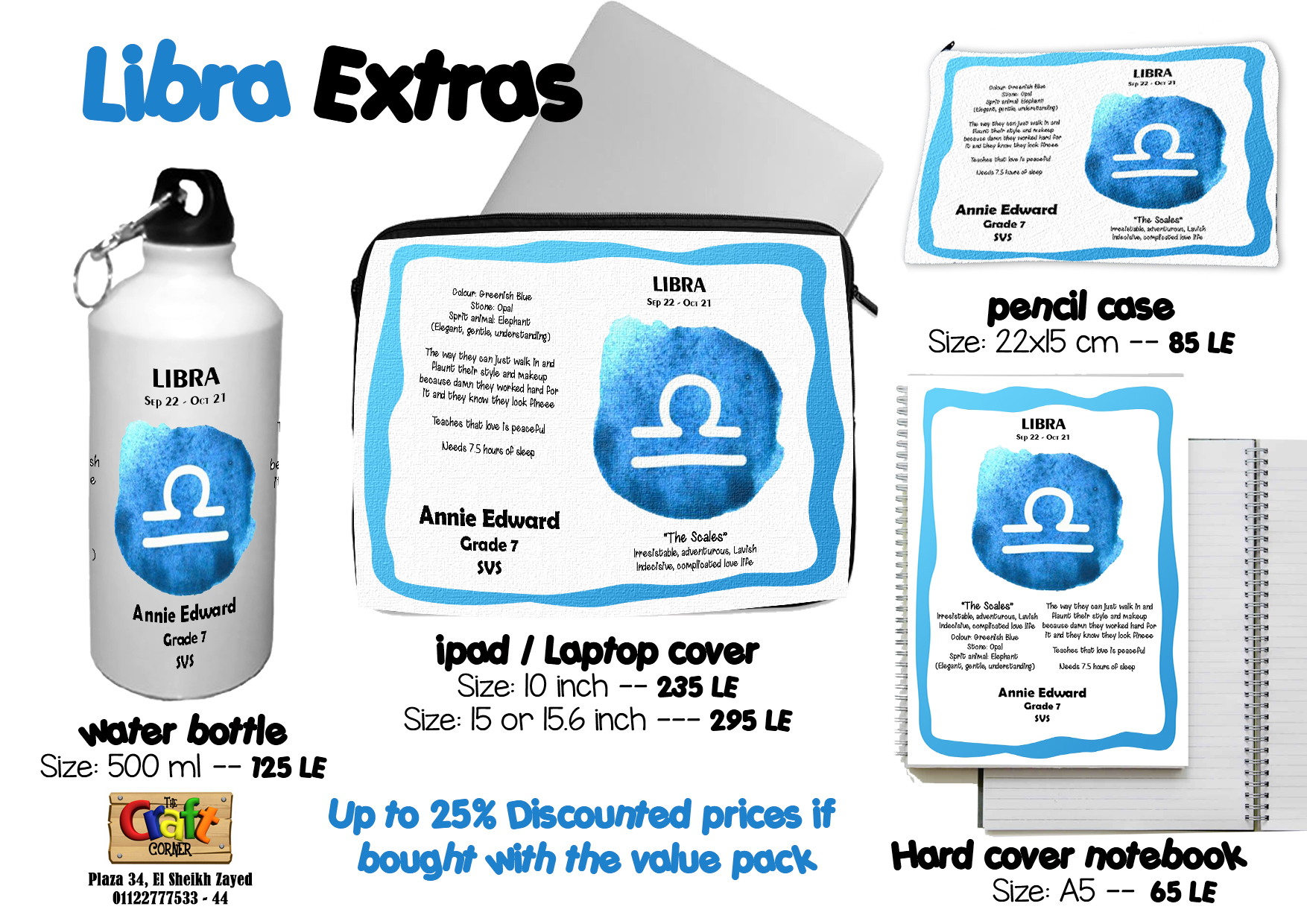 Libra Extras
