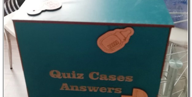 wooden Quiz answer box