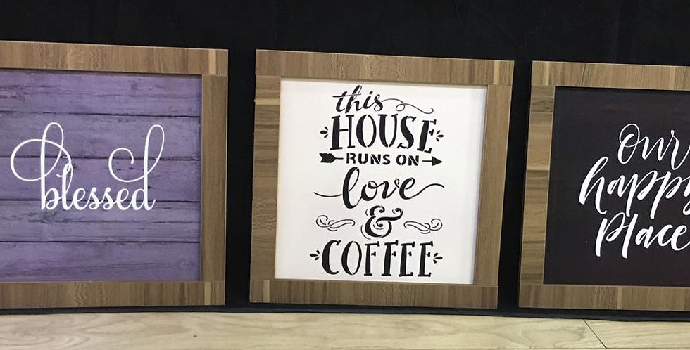 Coffee home wall art