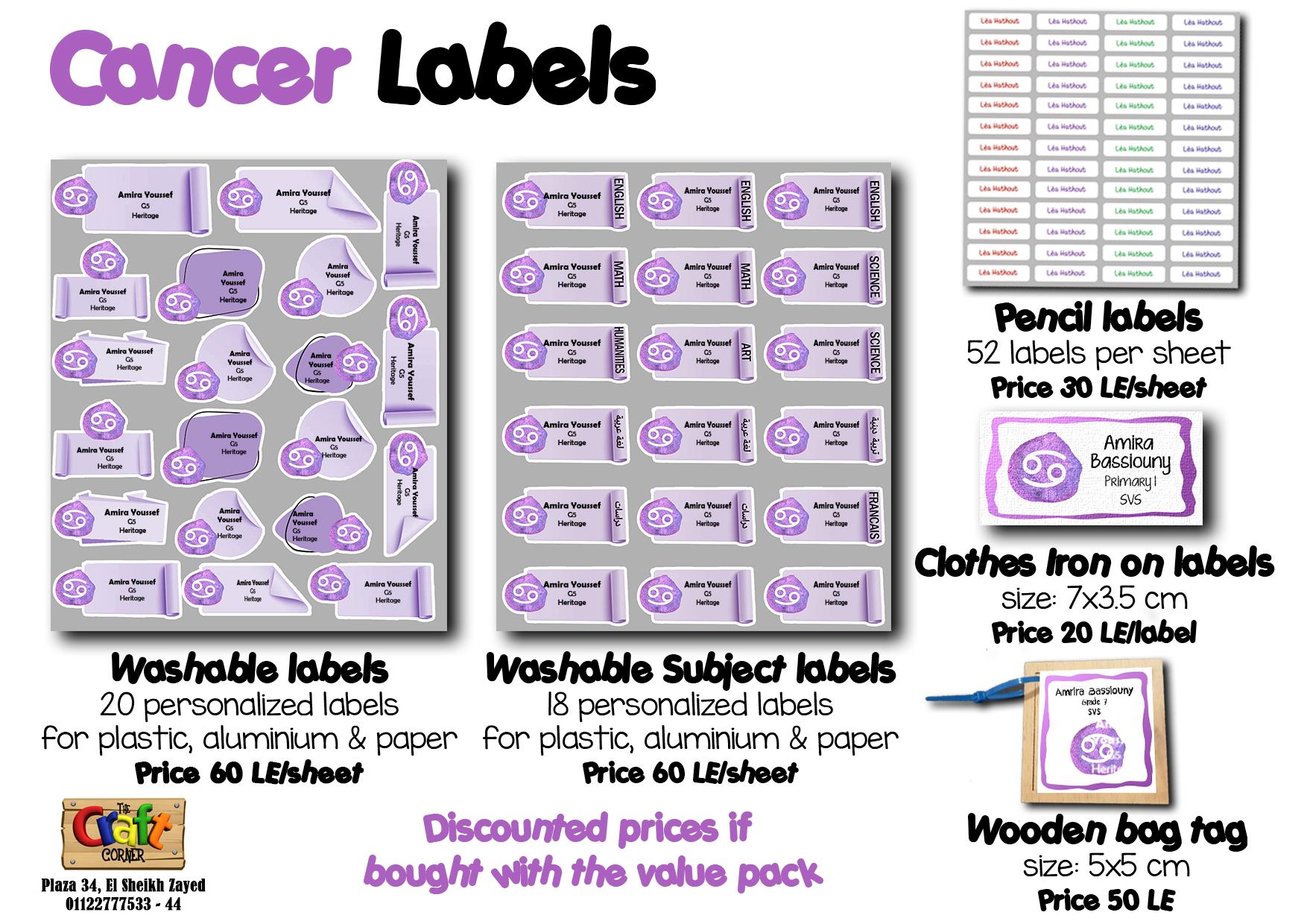 Cancer Labels