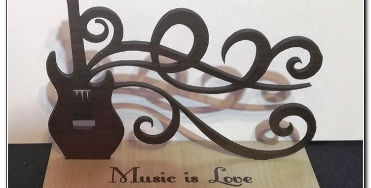 Music is love stand
