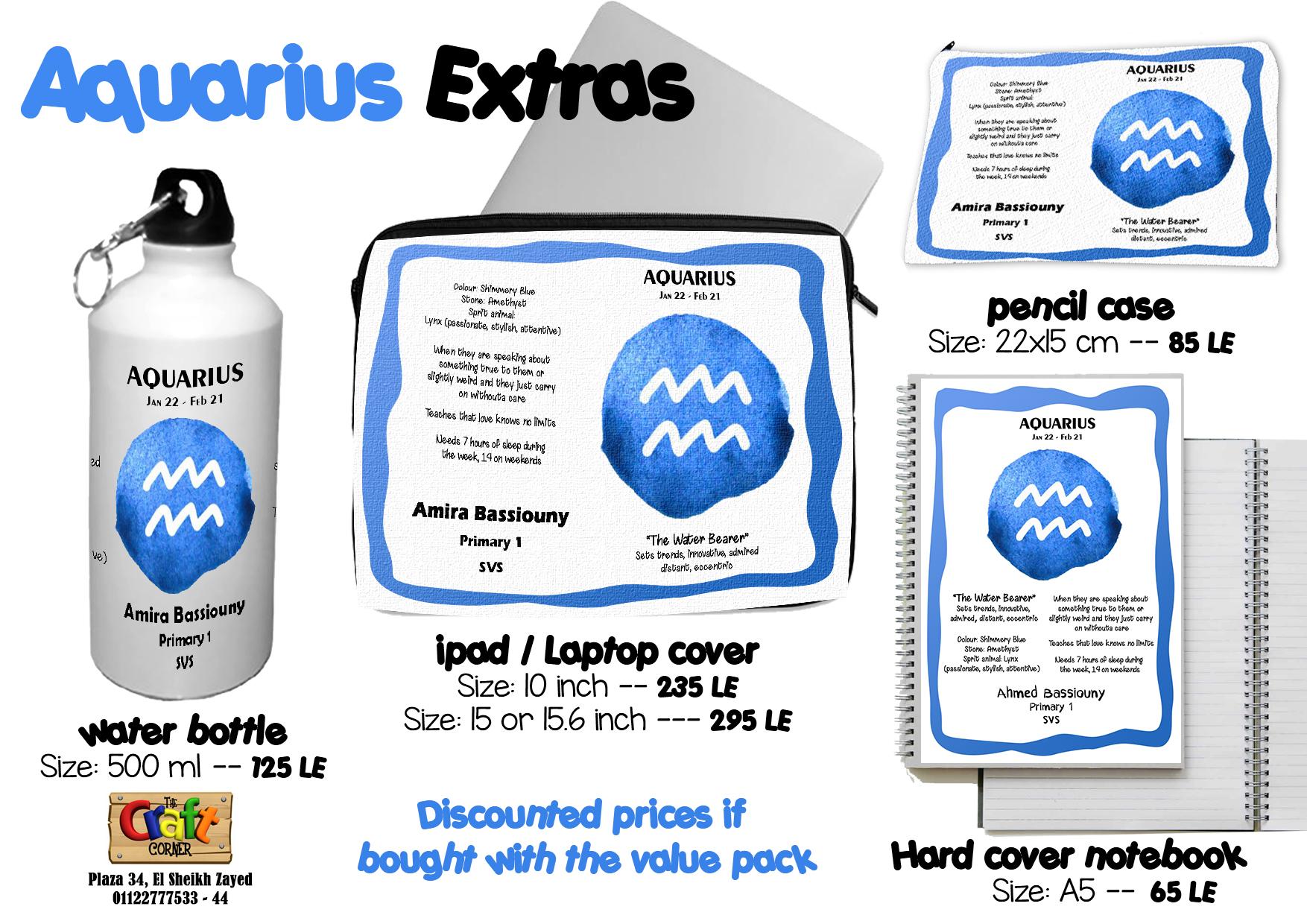 Aquarius Extras