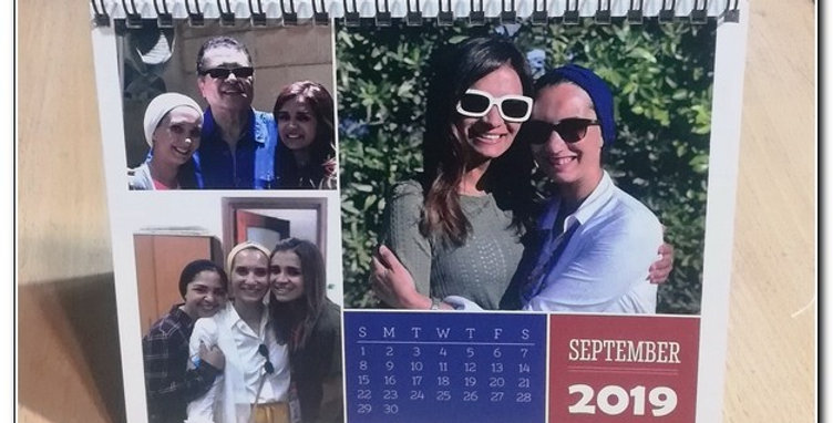Personalized wired calendar