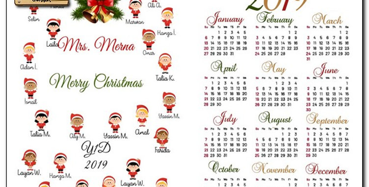 Personalized wooden based calendar