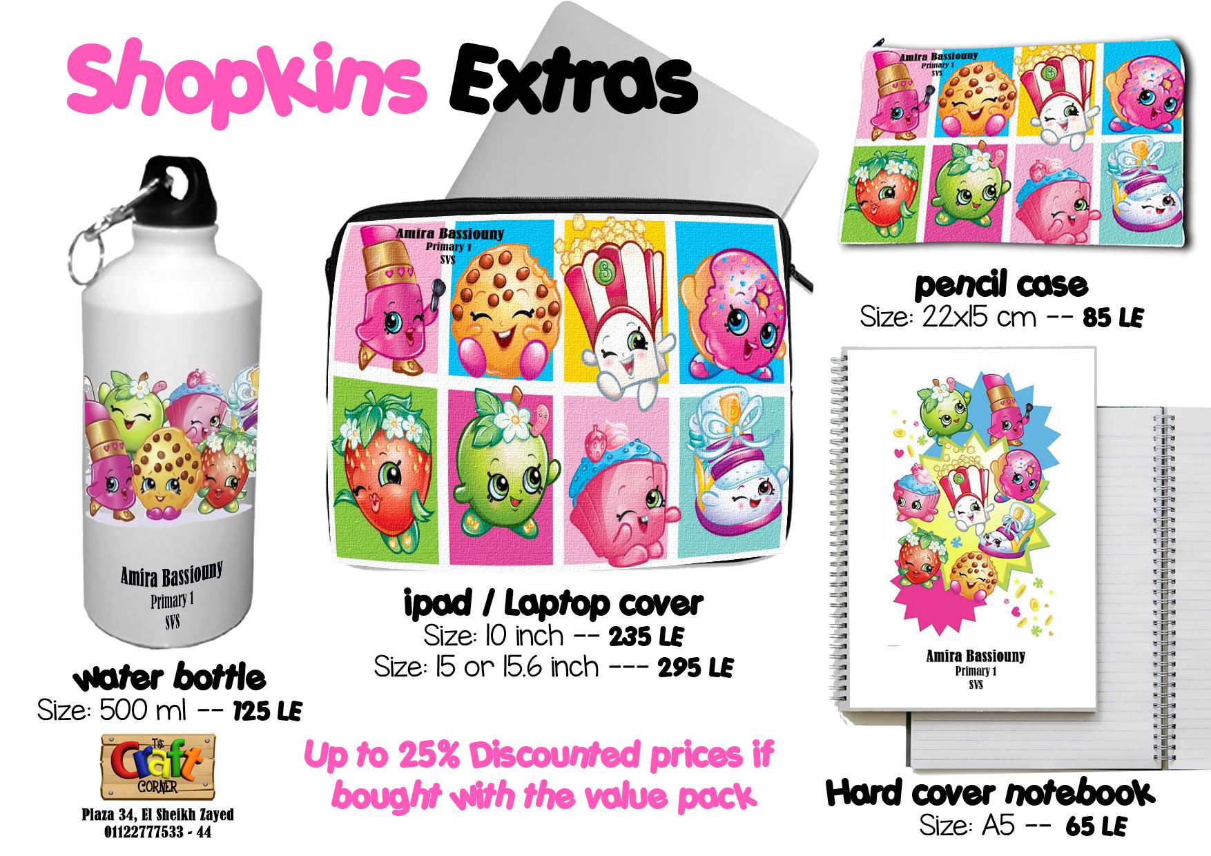 shopkins Extras