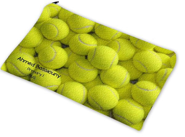 tennis pencil case