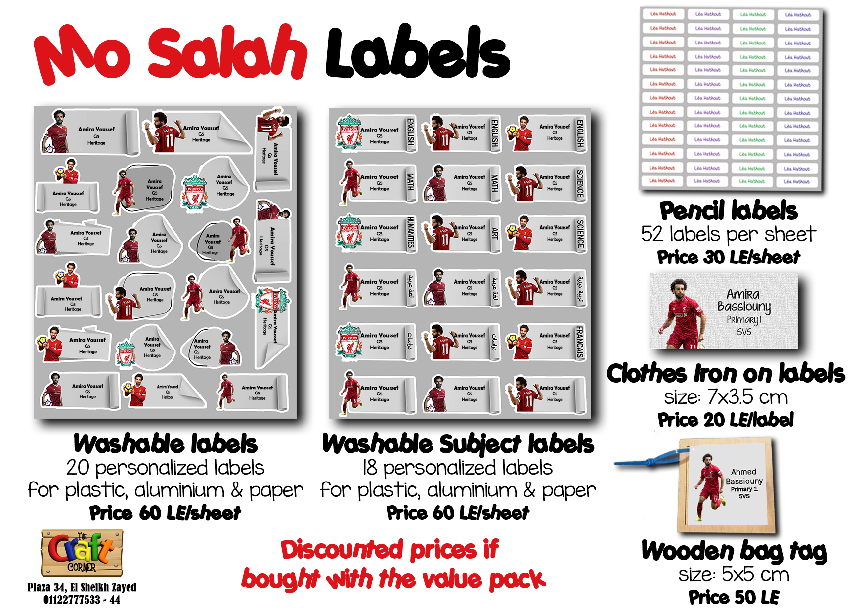 Mo salah Labels