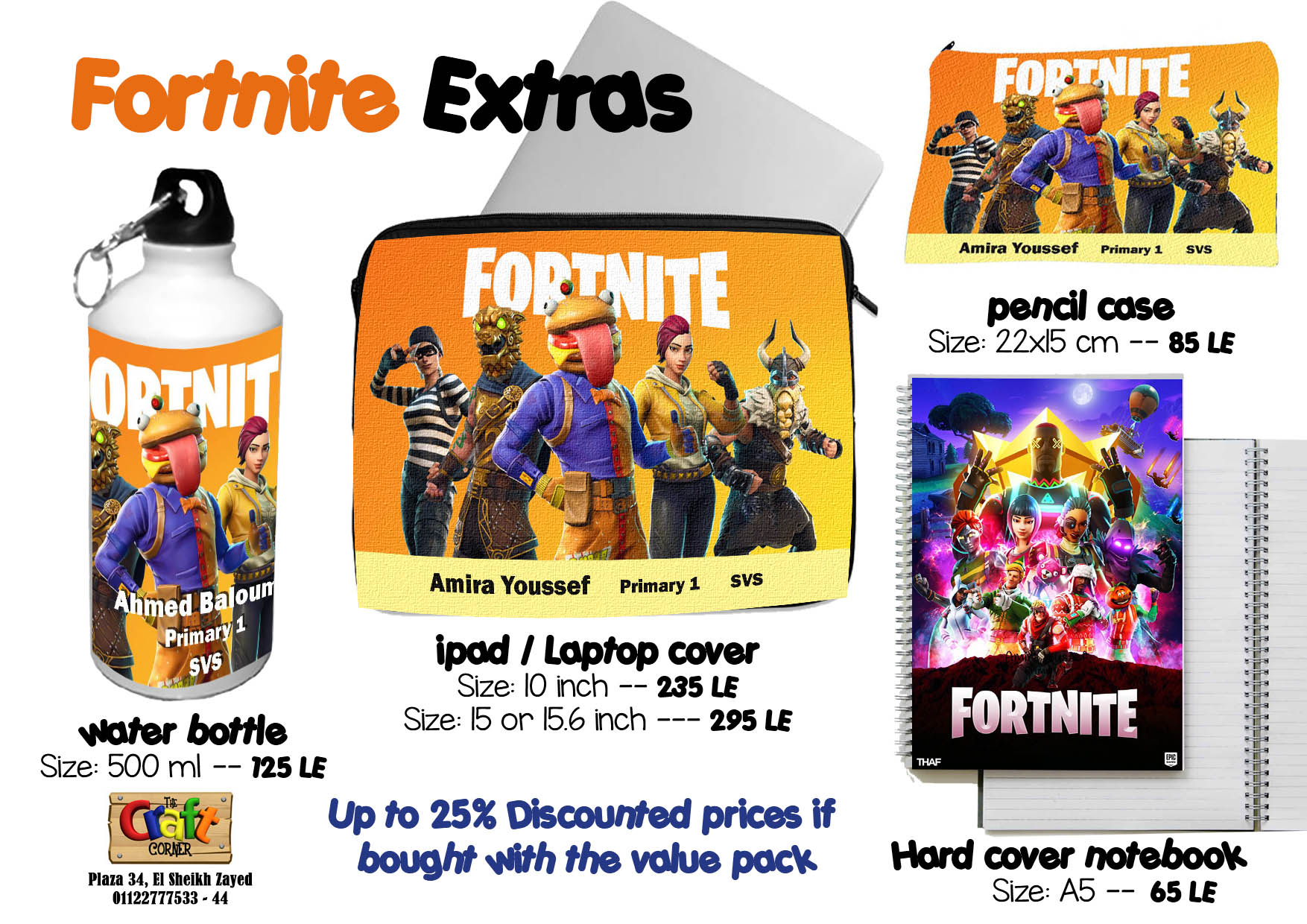 fortnite Extras