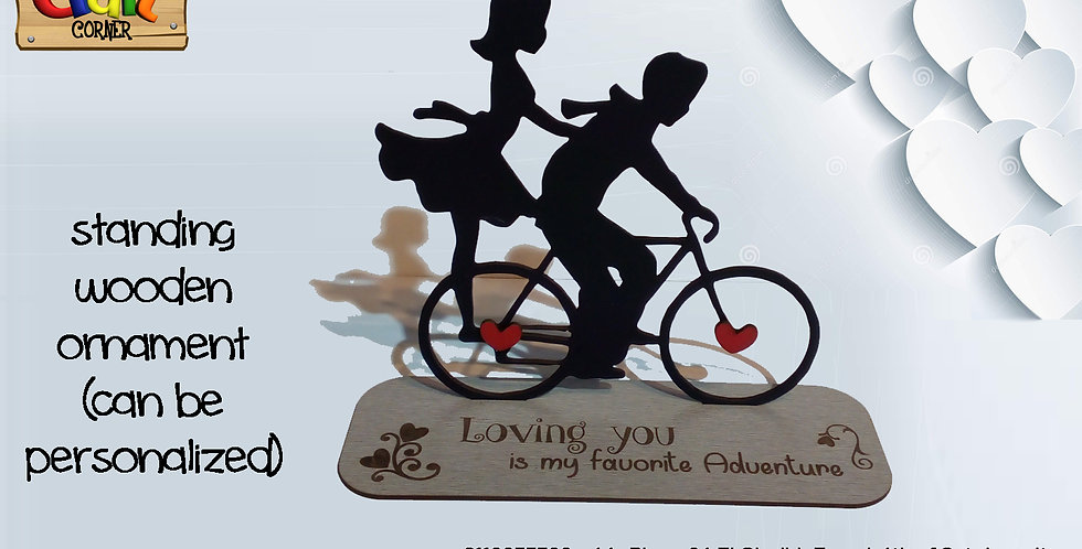 Favorite adventure bike table stand