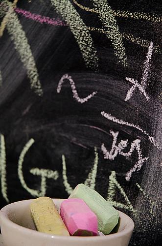 something in chalk