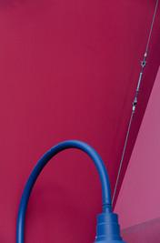 heaving blue arch